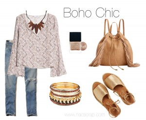 Creating a Boho Chic Look