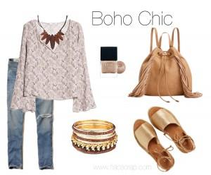 Creating a Boho Chic Look