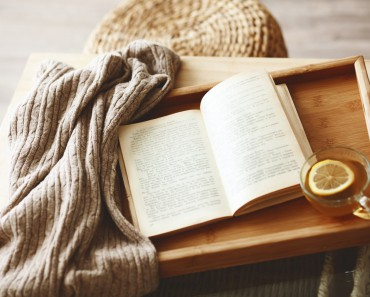 comfort-tray-book-tea-sweater-lemon-cup