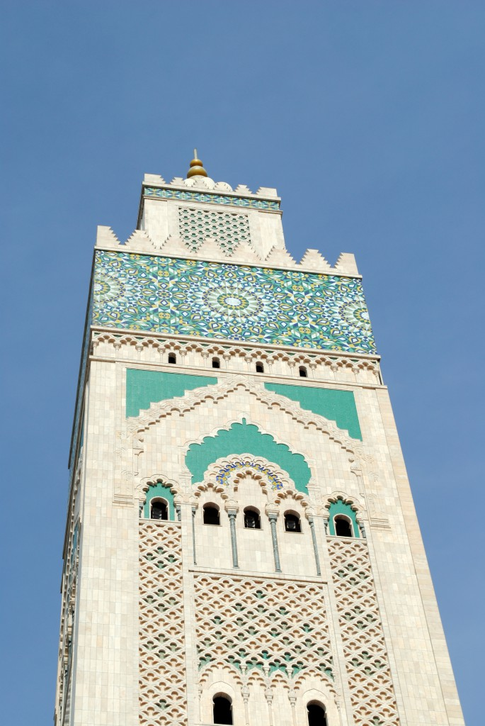 Casablanca Maroc - Moscheea Hassan II