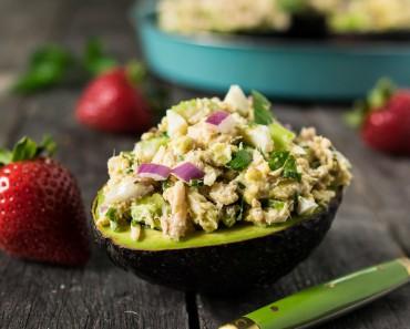 salata cu ton avocado